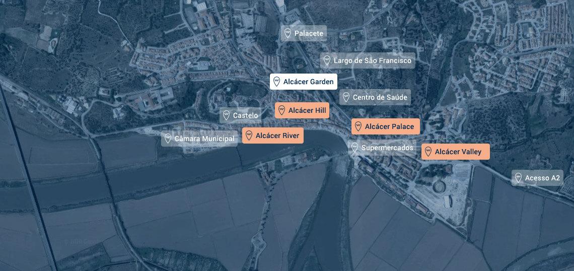 Map Satelite Alcacer